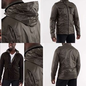 Lululemon men's polar opposites reversible jacket